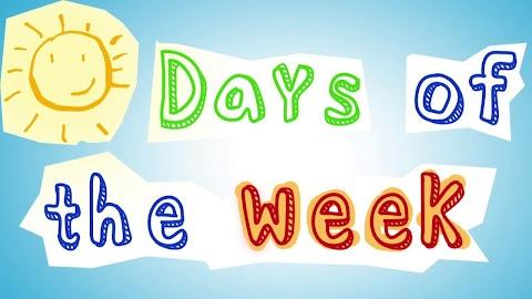 Days Of The Week Song Lyrics Dr Jean
