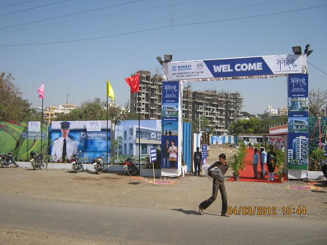 Pristine Pacific & the site of Shri SiddhiVinayak Manswi, 2 BHK & 3 BHK Flats at Ambegaon Budruk, Pune 411046