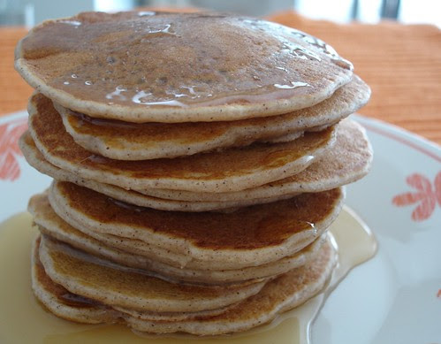 Cinnamon pancakes