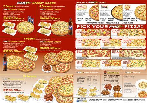 daftar promo pizza hut indonesia terbaru  harga menu