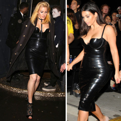Ellie Goulding channeled Kim Kardashian for the 2015 UNICEF Halloween ball. Scary? Not so much. Wonderful-looking? Yes.
