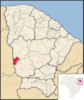 Localização de Quiterianópolis