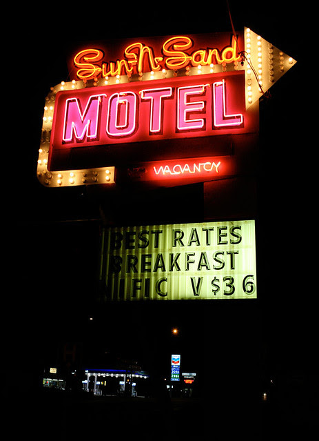 a motel in kanab, utah
