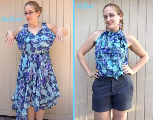 Tie a Bow Around It - Before & After