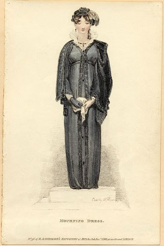Mourning dress, Winter 1811