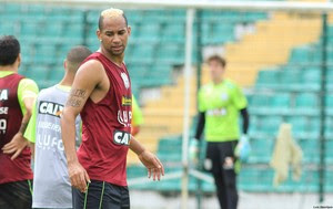 Thiago Santana Figueirense (Foto: Luiz Henrique/Figueirense FC)
