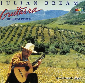 BREAM, JULIAN guitarra the guitar in spain