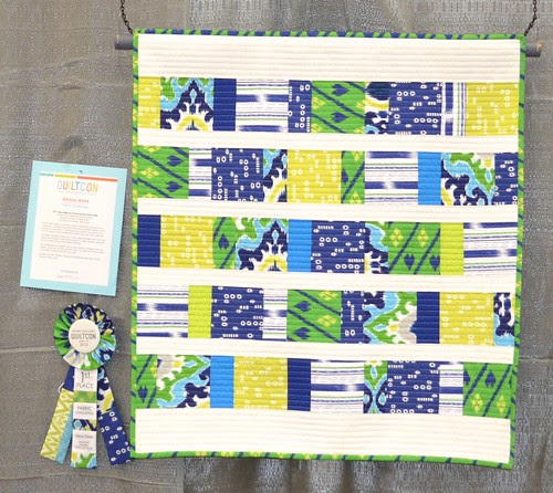 Dear Stella as Charm Squares Baby Quilt by Melody Baker