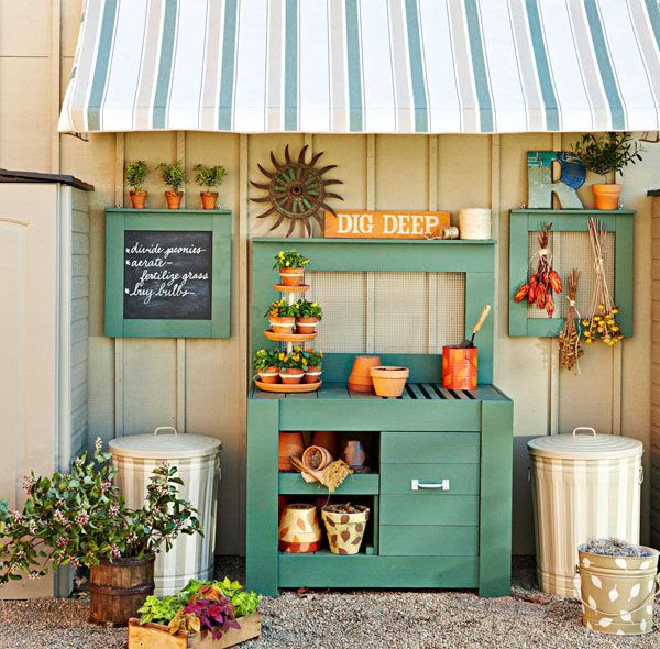 5 Potting Bench Plans | Ana White