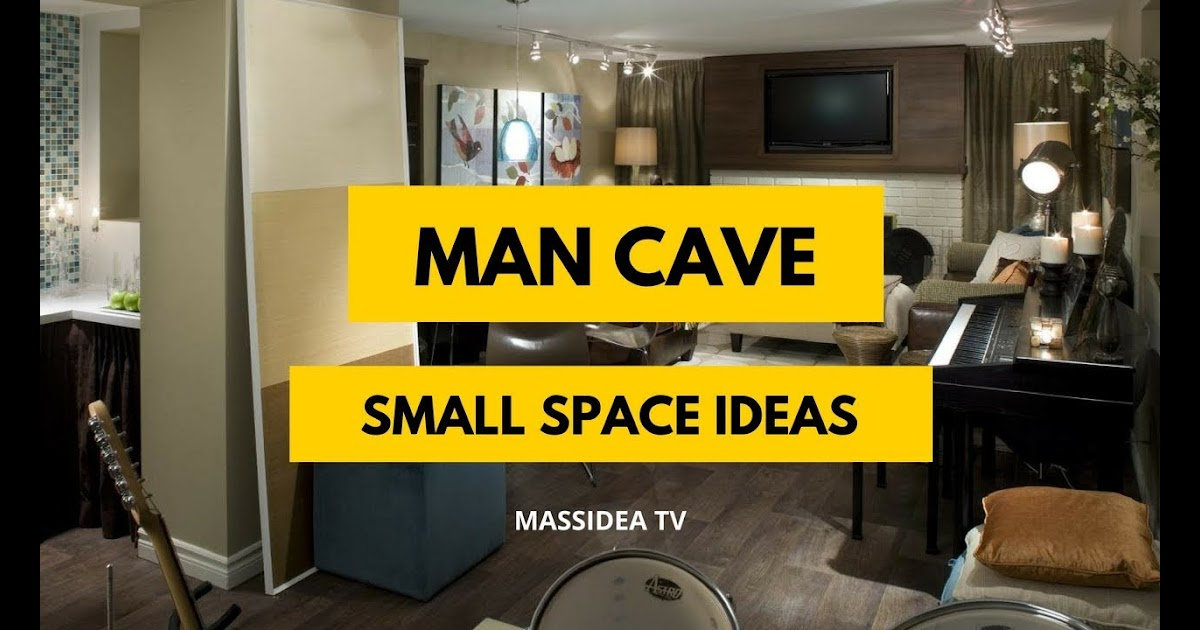 The Garage Plan Shop Small Man Cave Ideas On A Budget
