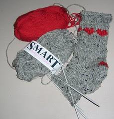 sokker med hjerter