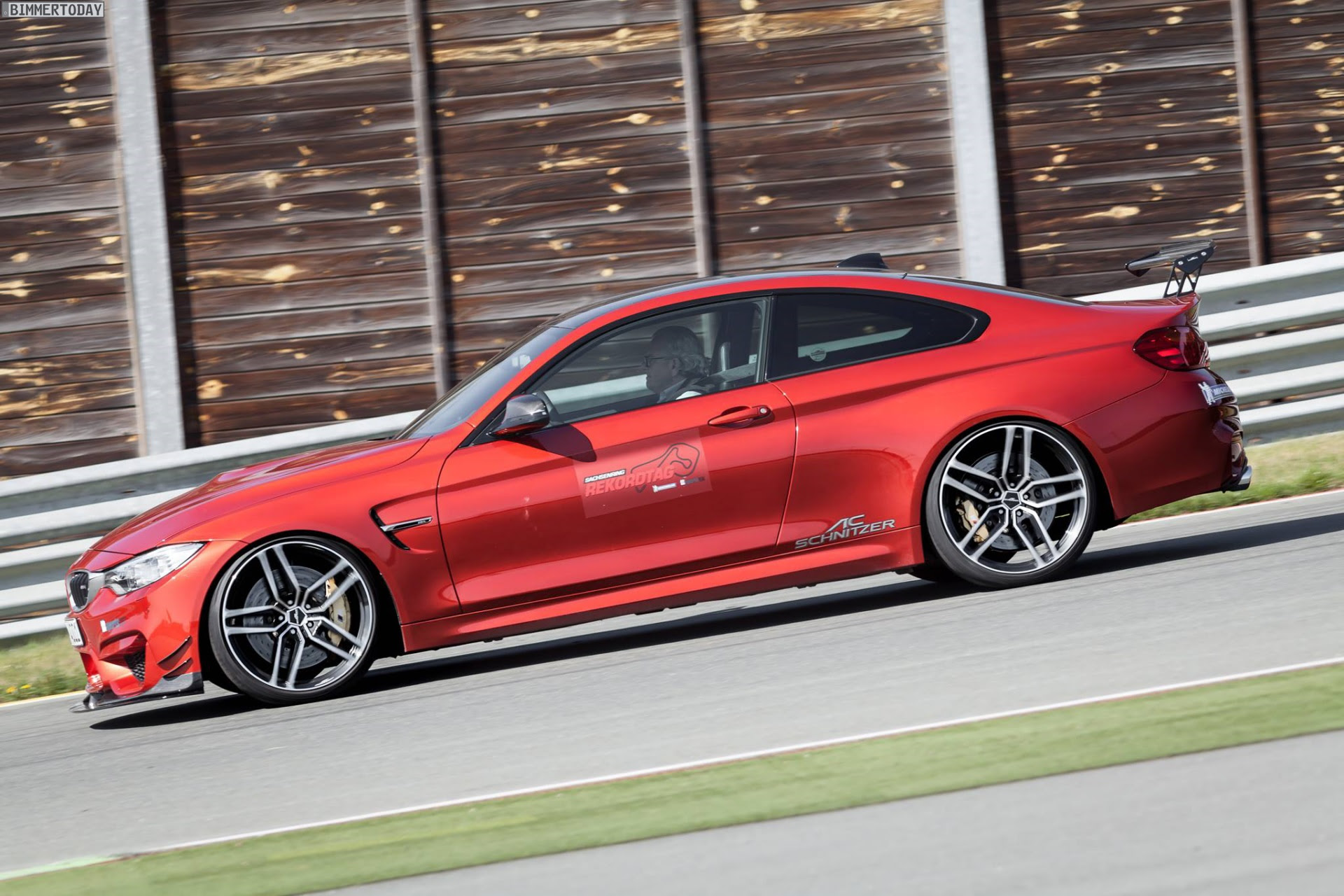AC Schnitzer ACS4 fastest BMW on Hockenheim