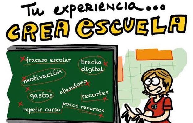 Tu experiencia...Crea escuela