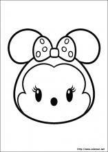 Dibujos De Tsum Tsum Para Colorear En Colorearnet
