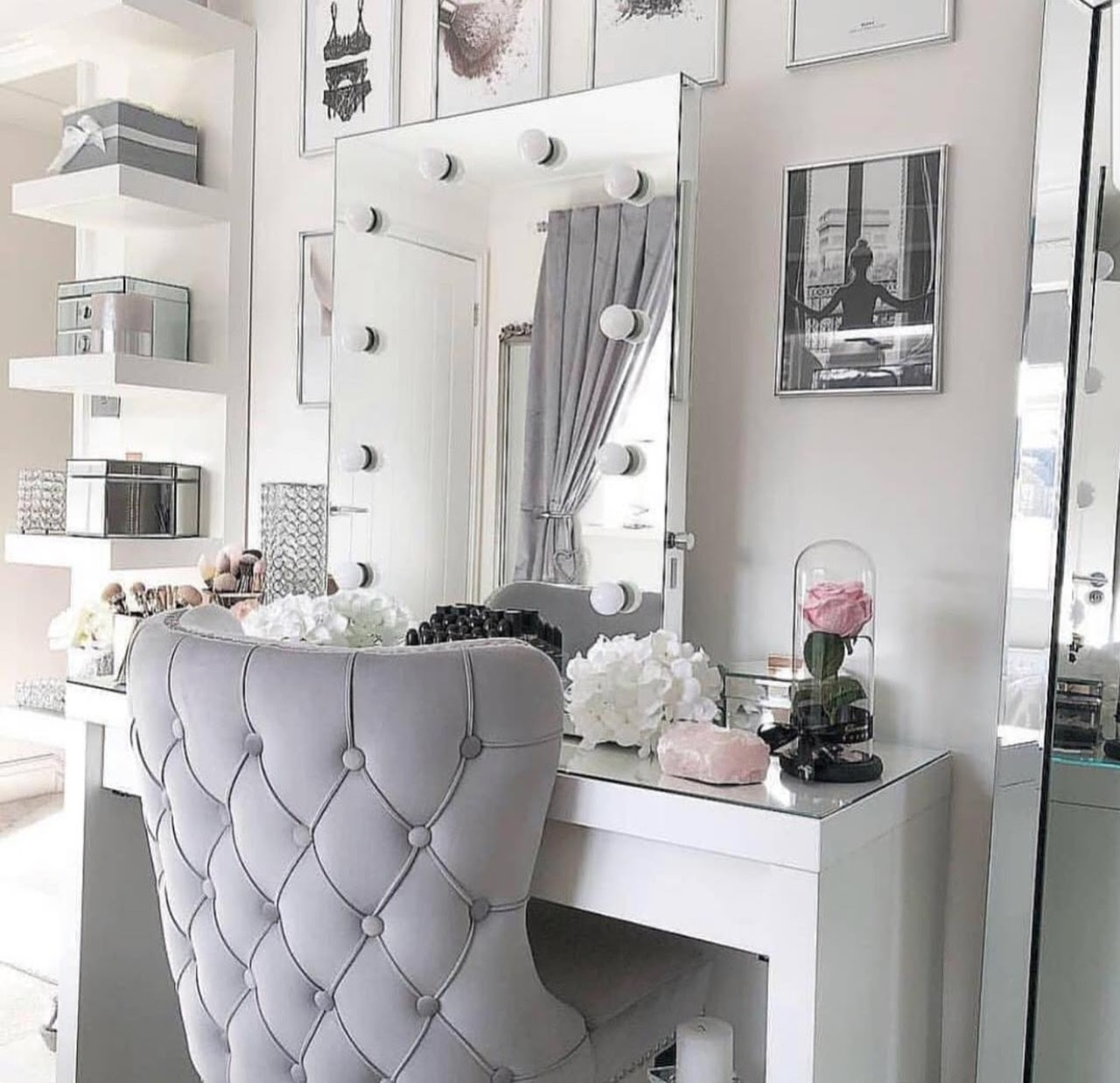 inspiration, makeup room inspiration, home and makeup room - image