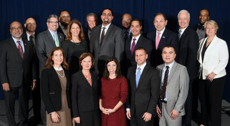 Members of the U.S. Interagency Council on Homelessness