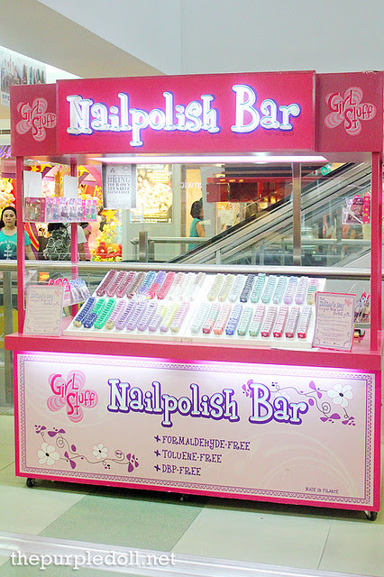 Girlstuff Nailpolish Bar SM North EDSA