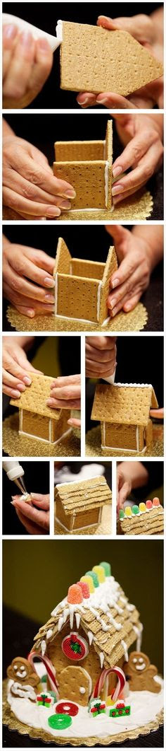 DIY Ginger Bread House craft crafts christmas decor christamas crafts christmas craft christmas diy diy christmas ornaments craft xmas decor christmas kids crafts christmas craft ideas christmas  diy ideas christmas home crafts