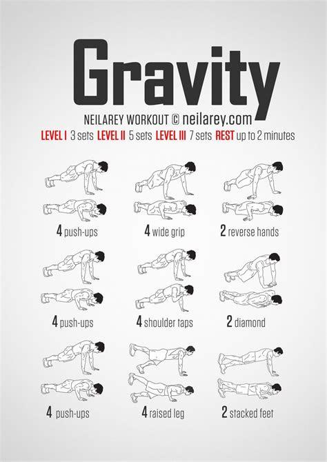 equipment gravity push  bodyweight workout