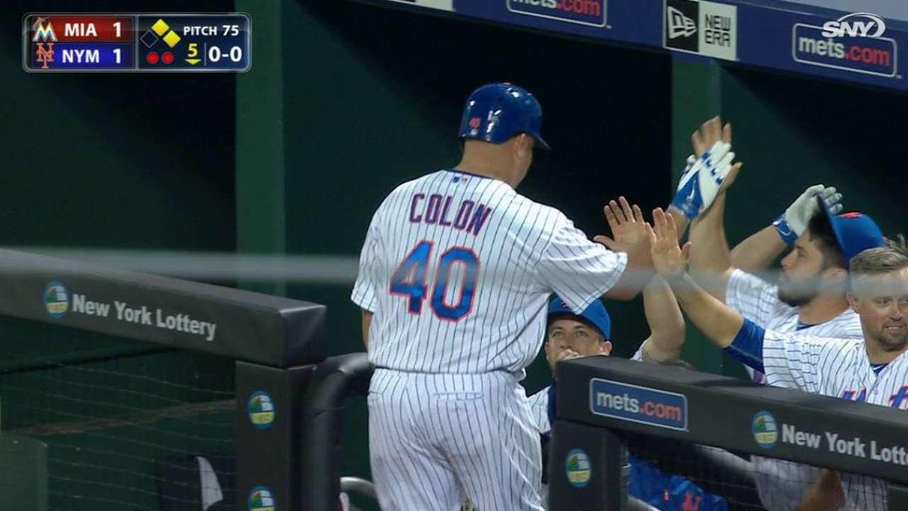 Colón guia a los Mets a sumar su 6ta victoria en fila