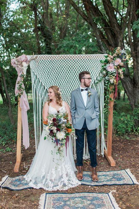 Romantic Country Lodge Boho Luxe Wedding Inspiration