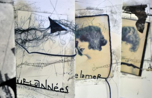 livre-de-matieres:  Stéphanie DevauxLivre d'artiste - détail