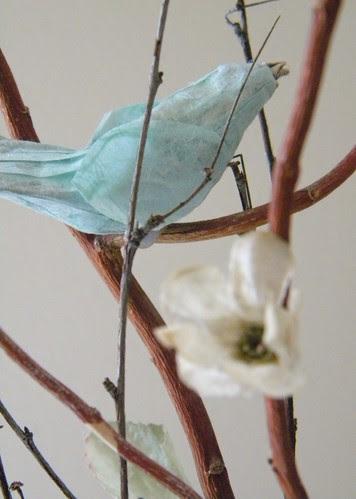 .Paper Mache Birds