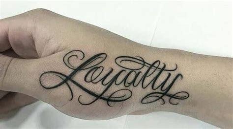 loyalty tattoo designs visual arts ideas