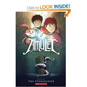 The Stonekeeper (Amulet, Book 1)