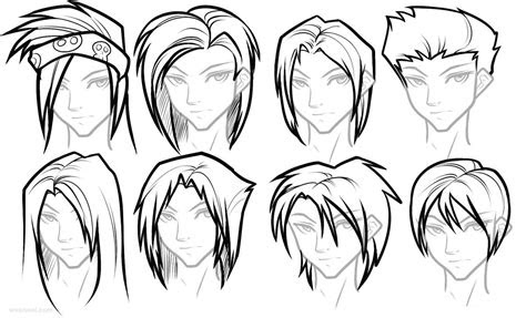 draw female girls anime hairstyles anime manga