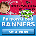 Personalized Photo Banners