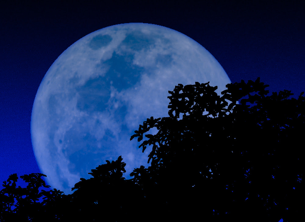 The Origin Of The Phrase Once In A Blue Moon
