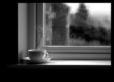 Hujan dan kopi