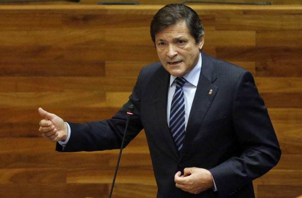 El presidente de Asturias y líder regional socialista, Javier Fernández.