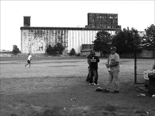 Baseball in Red Hook, Brooklyn