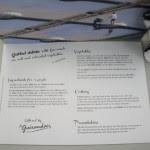 「グリル・サーロイン ゲランドの塩とカラフルヴェジタブル」のルセット