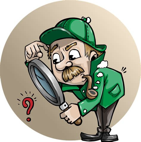 detective searching man  vector graphic  pixabay