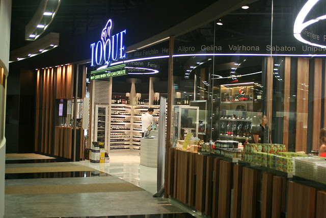 Toque is just across from ToTT