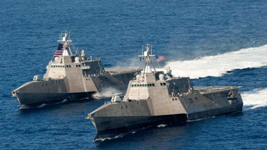 Navy Complied with Regulations in Accepting Two Lead Ships42223