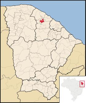 Localização de Umirim