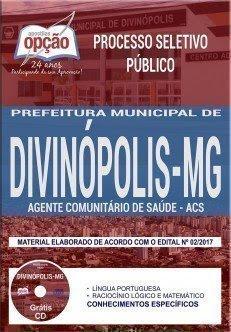 Apostila Processo Seletivo Público Prefeitura de Divinópolis 2018   AGENTE COMUNITÁRIO DE SAÚDE (ACS)