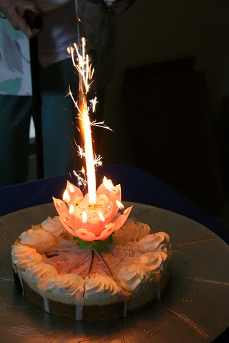 Lotus Flower Fireworks Candle