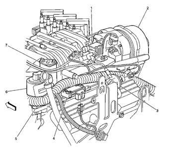 1998 Buick LeSabre Engine diagram - Questions (with ...