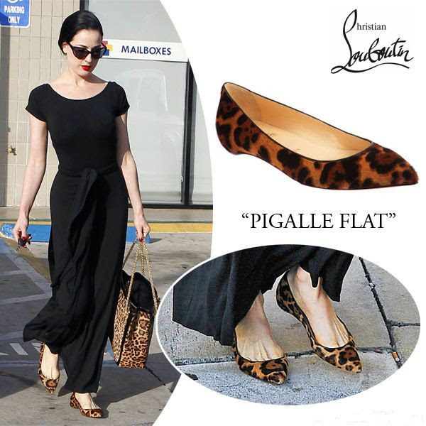 dita-von-teese-christian-louboutin-pigalle-leopard-print-flats