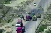 Tank AD Mesir Gilas Mobil Teroris Penuh Bahan Peledak