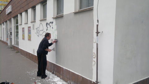 oprava fasády - ul.Provazníkova 16
