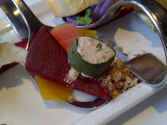 Tri Coloured Beet Salad