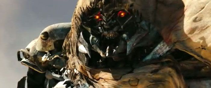 Megatron revealed in TRANSFORMERS: DARK OF THE MOON.