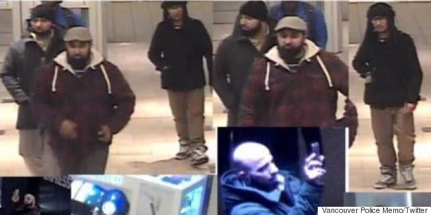 Vancouver Police Search For Men Who Took Video Of Mall Entrances, Exits
