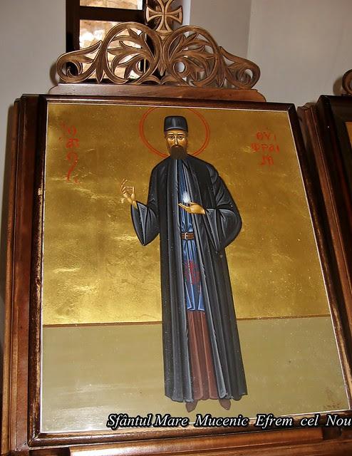 Sfântul  Mare  Mucenic  Efrem  cel  Nou 11